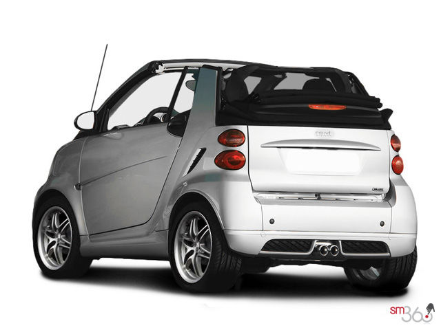 smart fortwo cabriolet brabus 2012 25 295 groupe beaucage. Black Bedroom Furniture Sets. Home Design Ideas