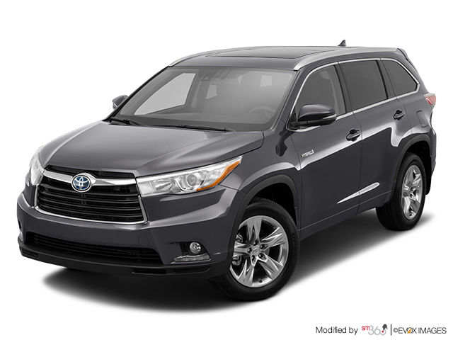 new 2015 toyota highlander hybrid limited for sale in pincourt. Black Bedroom Furniture Sets. Home Design Ideas