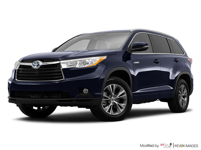 new 2015 toyota highlander hybrid xle for sale in pincourt. Black Bedroom Furniture Sets. Home Design Ideas