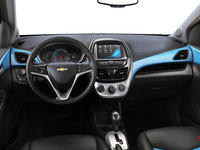 2016 Chevrolet Spark 2LT | Photo 3 | Jet Black/Blue Letherette