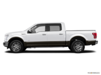2016 Ford F-150 LARIAT | Photo 1 | White Platinum/Caribou