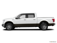 2016 Ford F-150 LARIAT | Photo 1 | Oxford White/Caribou