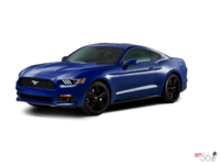 2016 Ford Mustang EcoBoost Premium | Photo 3 | Deep Impact Blue