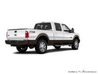 2016 Ford Super Duty F-250 KING RANCH | Photo 2 | White Platinum / Caribou
