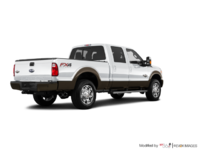 2016 Ford Super Duty F-250 KING RANCH | Photo 2 | Oxford White / Caribou
