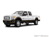 2016 Ford Super Duty F-250 KING RANCH | Photo 3 | White Platinum / Caribou