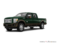2016 Ford Super Duty F-250 KING RANCH | Photo 3 | Green Gem / Caribou