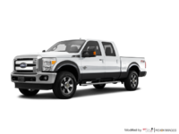 2016 Ford Super Duty F-250 LARIAT | Photo 3 | Oxford White / Magnetic