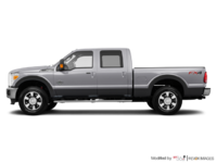 2016 Ford Super Duty F-350 LARIAT | Photo 1 | Ingot Silver / Magnetic