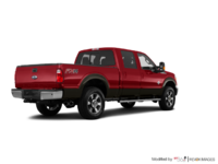 2016 Ford Super Duty F-350 LARIAT | Photo 2 | Ruby Red / Caribou