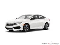 2016 Honda Civic Sedan DX | Photo 3 | Taffeta White