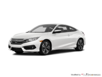 2016 Honda Civic Coupe EX-T | Photo 3 | White Orchid Pearl