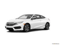 2016 Honda Civic Coupe LX-SENSING | Photo 3 | Taffeta White