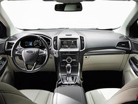 2017 Ford Edge TITANIUM | Photo 3 | Ceramic Leather with Perforated Inserts