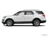 2017 Ford Explorer LIMITED | Photo 1 | White Platinum