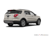 2017 Ford Explorer LIMITED | Photo 2 | White Gold