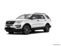 2017 Ford Explorer SPORT | Photo 3 | White Platinum