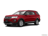 2017 Ford Explorer XLT | Photo 3 | Ruby Red