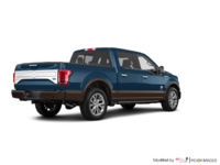 2017 Ford F-150 KING RANCH | Photo 2 | Blue Jeans Metallic/Caribou