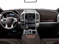 2017 Ford F-150 LARIAT | Photo 3 | Black Special Edition Leather w/Red Accent