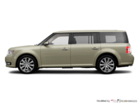 2017 Ford Flex LIMITED | Photo 1 | White Gold
