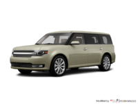 2017 Ford Flex LIMITED | Photo 3 | White Gold