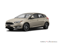 2017 Ford Focus Hatchback SEL | Photo 3 | White Gold