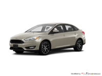 2017 Ford Focus Sedan SE | Photo 3 | White Gold