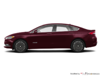 2017 Ford Fusion Hybrid PLATINUM | Photo 1 | Burgandy Velvet