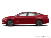 2017 Ford Fusion Hybrid PLATINUM | Photo 1 | Ruby Red