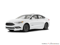 2017 Ford Fusion Hybrid PLATINUM | Photo 3 | Oxford White