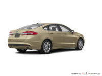 2017 Ford Fusion S | Photo 2 | White Gold