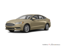 2017 Ford Fusion S | Photo 3 | White Gold
