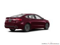 2017 Ford Fusion TITANIUM | Photo 2 | Burgandy Velvet