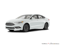 2017 Ford Fusion TITANIUM | Photo 3 | White Platinum