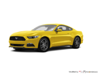 2017 Ford Mustang EcoBoost | Photo 3 | Triple Yellow