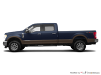 2017 Ford Super Duty F-250 KING RANCH | Photo 1 | Blue Jeans Metallic/Caribou