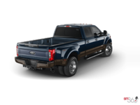 2017 Ford Super Duty F-450 LARIAT | Photo 2 | Blue Jeans Metallic/Caribou