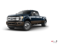 2017 Ford Super Duty F-450 LARIAT | Photo 3 | Blue Jeans Metallic/Caribou