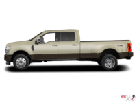 2017 Ford Super Duty F-450 LARIAT | Photo 1 | White Gold Metallic/Caribou