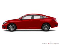 2017 Honda Civic Sedan EX | Photo 1 | Rallye Red