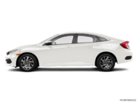2017 Honda Civic Sedan EX | Photo 1 | White Orchid Pearl