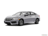 2017 Honda Civic Sedan EX | Photo 3 | Lunar Silver Metallic