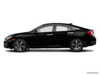 2017 Honda Civic Sedan TOURING | Photo 1 | Crystal Black Pearl
