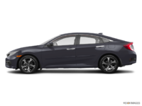 2017 Honda Civic Sedan TOURING | Photo 1 | Modern Steel Metallic