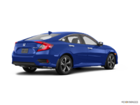 2017 Honda Civic Sedan TOURING | Photo 2 | Aegean Blue Metallic