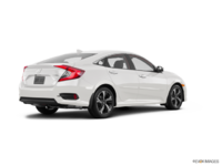 2017 Honda Civic Sedan TOURING | Photo 2 | White Orchid Pearl
