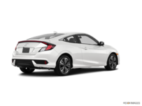 2017 Honda Civic Coupe EX-T | Photo 2 | White Orchid Pearl