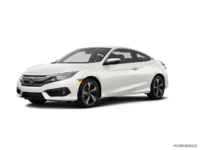 2017 Honda Civic Coupe TOURING | Photo 3 | White Orchid Pearl