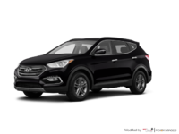 2017 Hyundai Santa Fe Sport 2.4 L LUXURY | Photo 3 | Twilight Black
